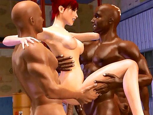 Three workers have sexual intercourse babe in stock in the eyes of her husband  lustful 3d anime sex archive.