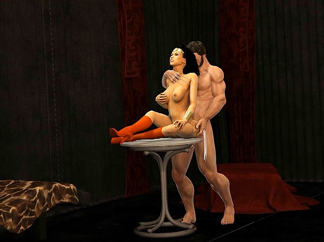 Wolverine and the magic woman  crazy 3d anime xxx videos.