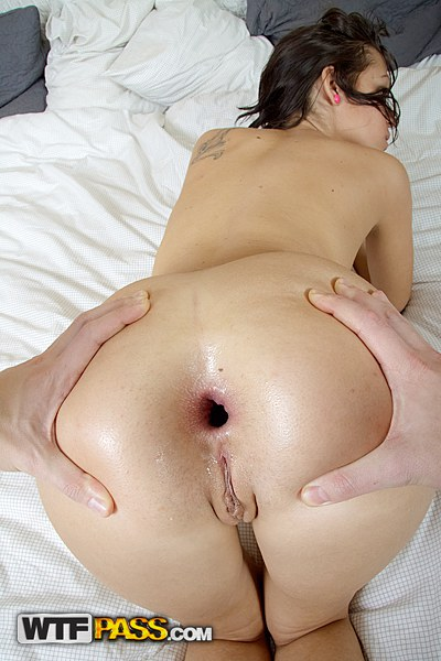 fuck her ass hole