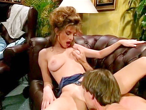 1 Bouncy boobs girl from porno 1980 doggy fucked