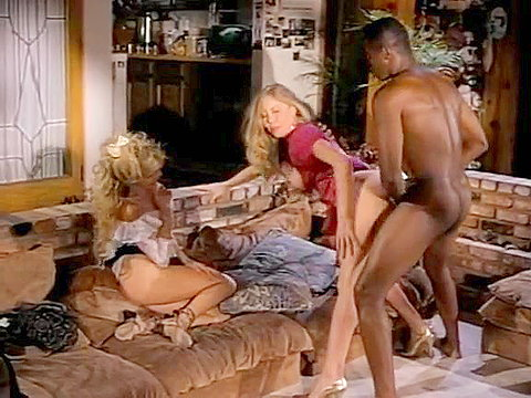 Well-hung black retro porn star doing latin chicks