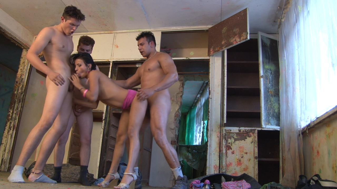 Hot asian beefy fuck strangers
