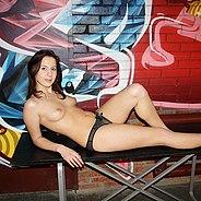 Nude model fucks photographer