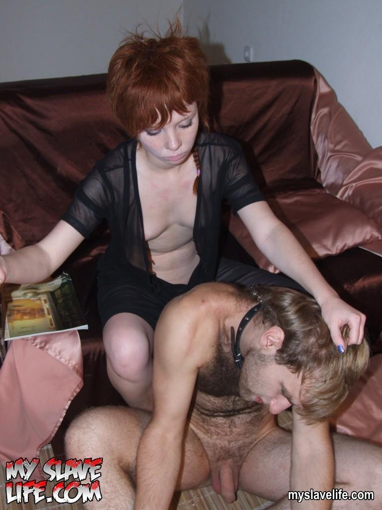 Русские госпожи издеваются над рабом онлайн 10 фотография